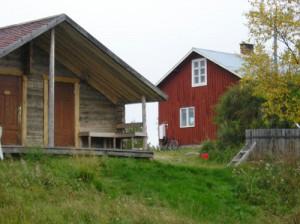 Filus gamla hus vid älven
