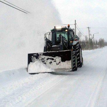 Vinter i Övre Soppero