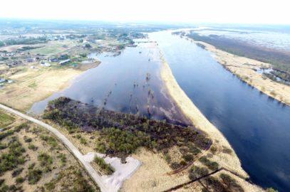 Vårfloden 2017 i Lainioälven, Övre Soppero