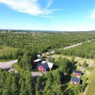 Vyer och gårdar i Övre Soppero 2017